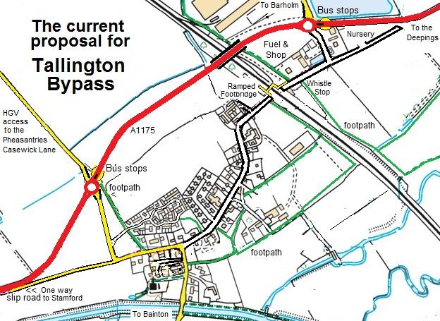 tallington bypass proposal
